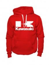 Толстовка Kawasaki красная