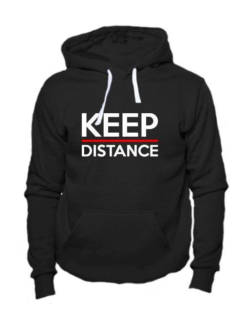 Толстовка Keep Distance черная