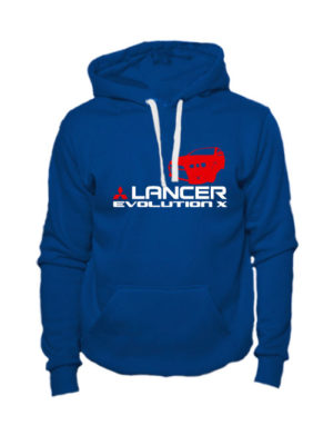 Толстовка Lancer Evolution X индиго