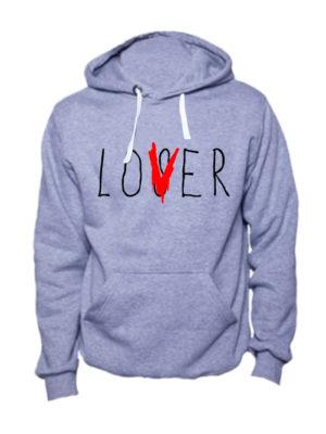 Толстовка Loser Lover серая