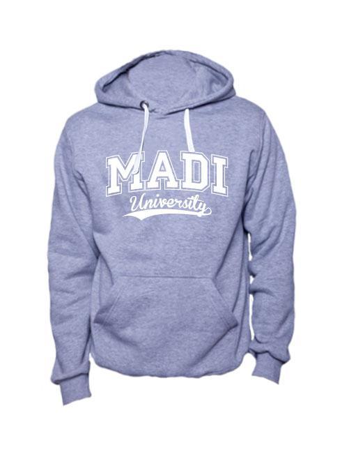 Толстовка MADI University серая
