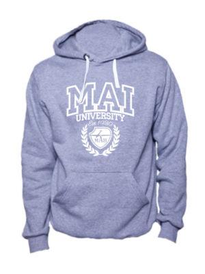 Толстовка MAI University серая