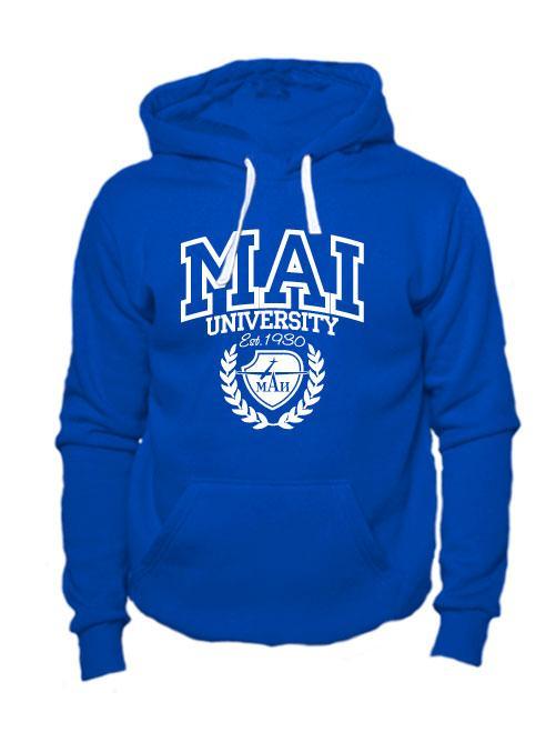 Толстовка MAI University синяя