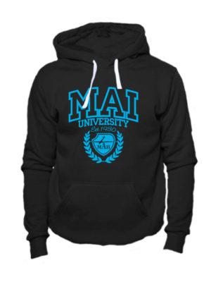 Толстовка MAI University черная