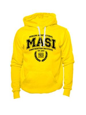 Толстовка MASI желтая