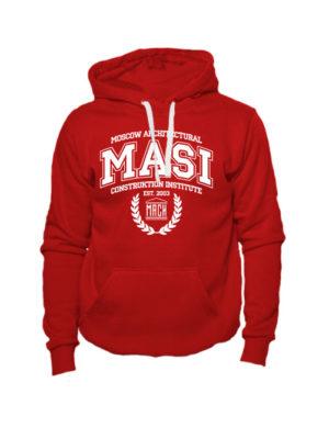 Толстовка MASI красная