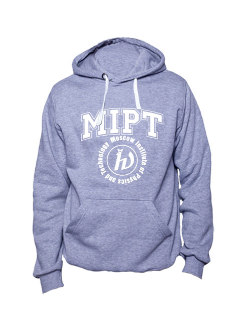 Толстовка MIPT серая