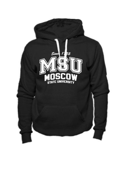 Толстовка MSU черная