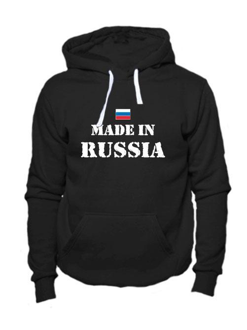 Толстовка Made in Russia черная