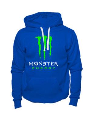 Толстовка Monster energy синяя