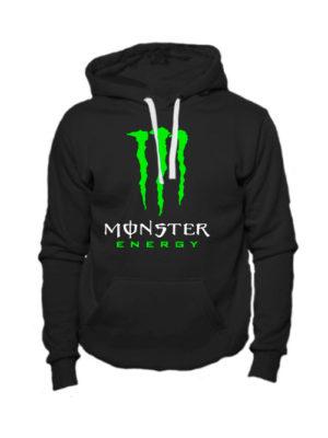 Толстовка Monster energy черная