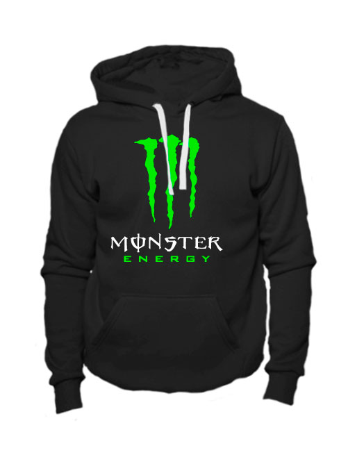 Толстовка Monster energy черная