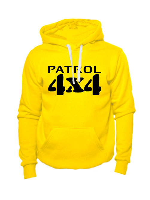 Толстовка Patrol 4x4 желтая