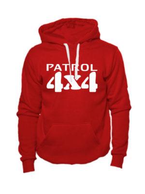 Толстовка Patrol 4x4 красная