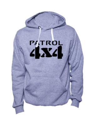 Толстовка Patrol 4x4 серая