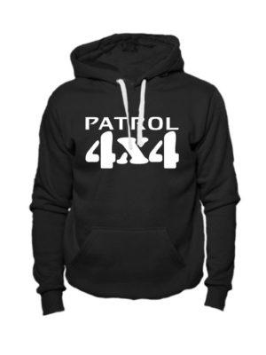 Толстовка Patrol 4x4 черная