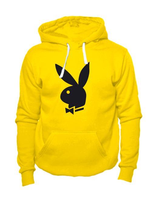 Толстовка Playboy желтая