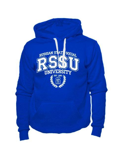 Толстовка RSSU синяя