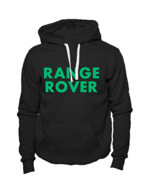 Толстовка Range rover черная