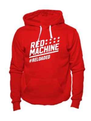 Толстовка Red mashine красная
