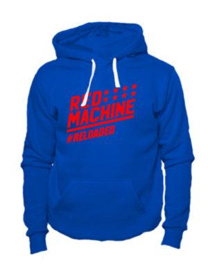 Толстовка Red mashine синяя