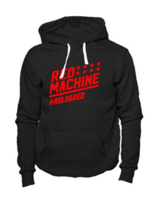 Толстовка Red mashine черная