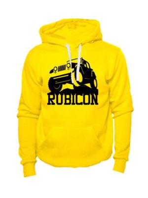 Толстовка Rubicon желтая