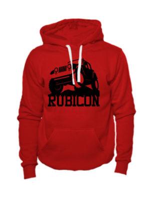 Толстовка Rubicon красная