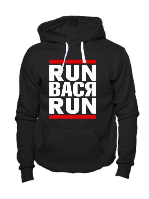 Толстовка Run Вася Run черная