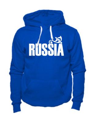 Толстовка Russia синяя
