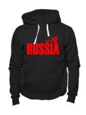 Толстовка Russia черная