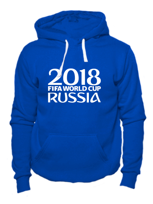 Толстовка Russia fifa world cup 2018 синяя
