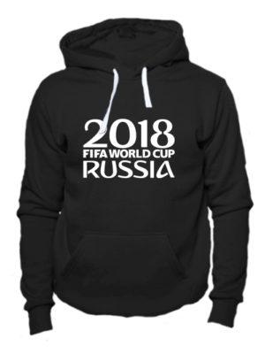 Толстовка Russia fifa world cup 2018 черная