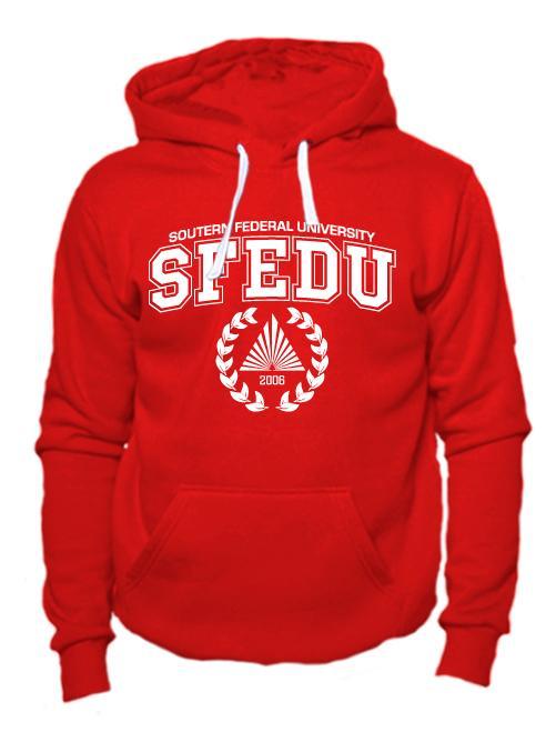 Толстовка SFEDU красная