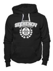 Толстовка Sechenov University черная