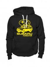 Толстовка Subaru forester черная