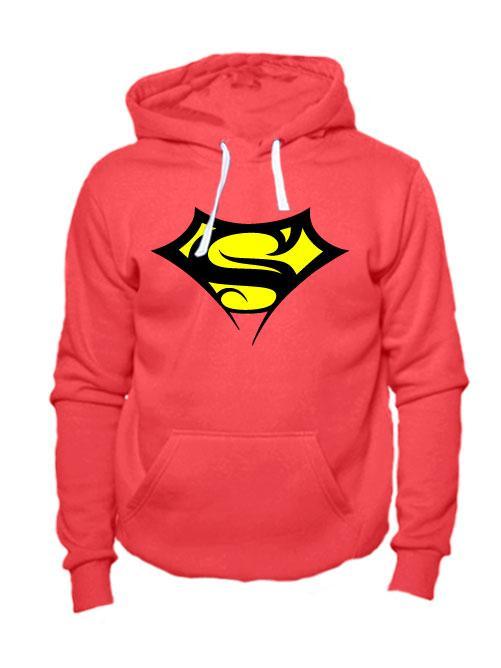 Толстовка Supergirl коралловая