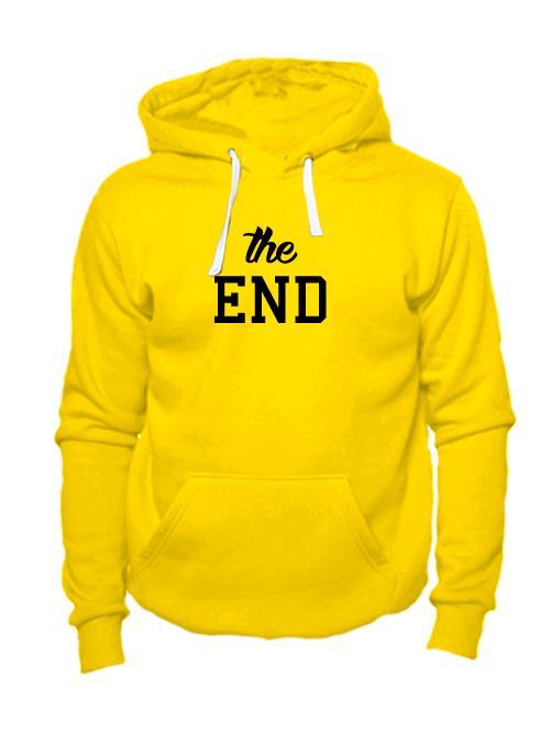 Толстовка The end желтая