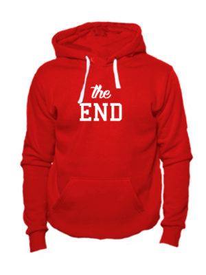 Толстовка The end красная