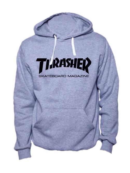 Толстовка Thrasher серая