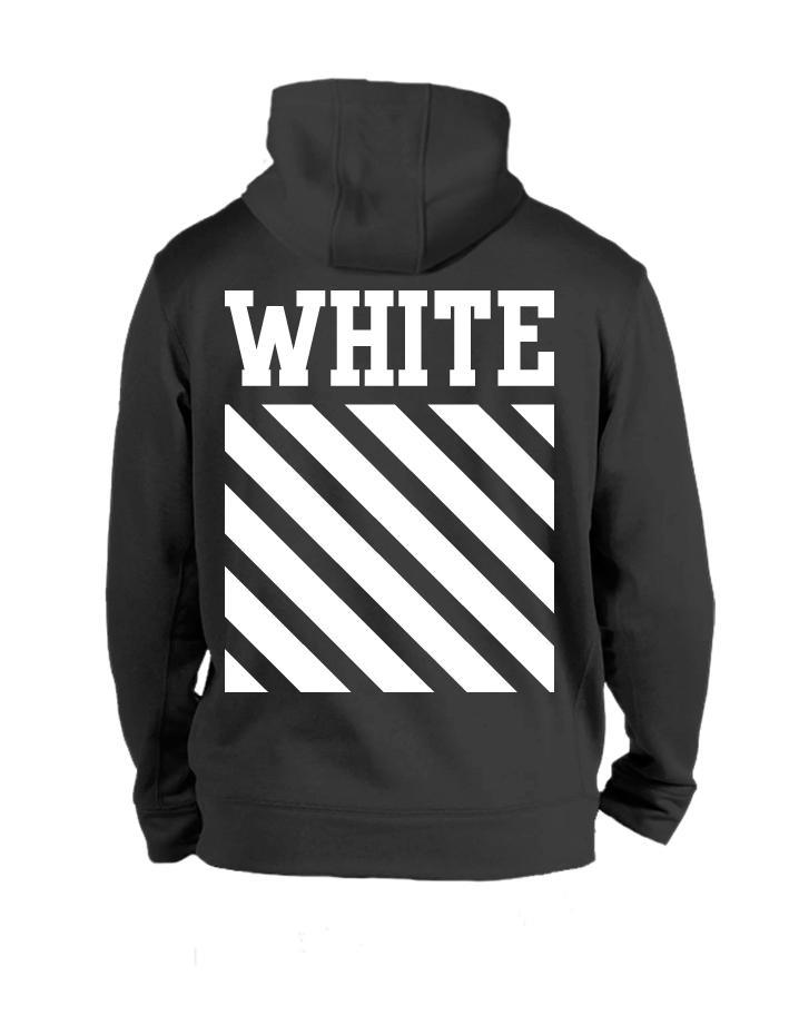 Толстовка White черная