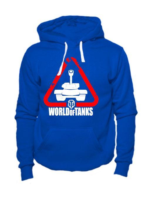 Толстовка World of tanks синяя