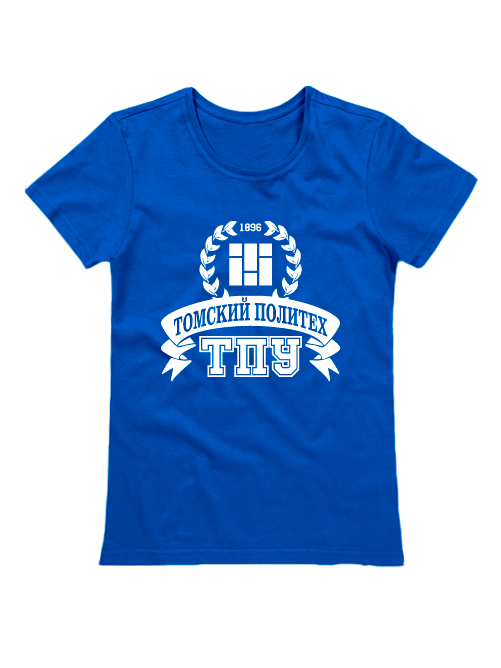 Футболка ТПУ женская синяя