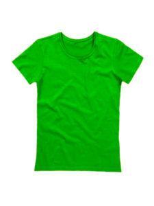 Футболка женская ХБ зеленая