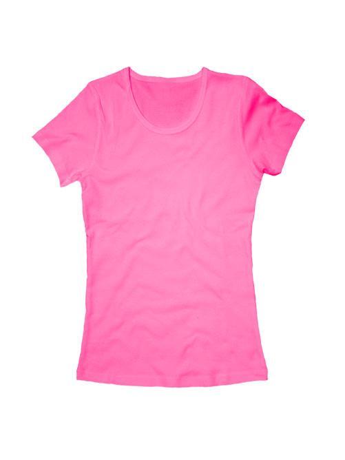 Футболка женская розовая