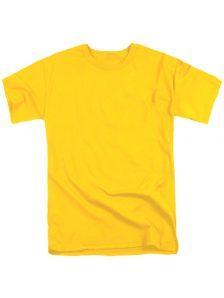 Футболка мужская ХБ. Материал ХБ 100%, плотность 160 гр. Классический мужской, свободный крой, с коротким рукавом и круглым мягким воротом. Двойная отстрочка всех швов прекрасно сохраняет форму футболки на протяжении длительного времени. Оптимальная плотность материала обеспечивает обеспечивает комфортность ношения футболки. Цвет желтый