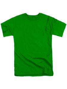 Футболка мужская ХБ зеленая
