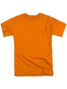 Футболка мужская ХБ оранжевая