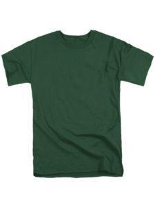 Футболка мужская ХБ темно зеленая