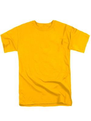 Футболка мужская желтая
